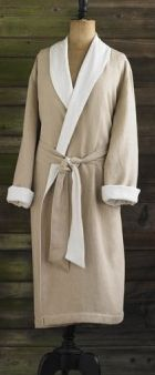 Product: Bath Robe  Company: Coyuchi  -This is an organic 100% cotton robe! Use it after the shower or whenever! So soft and awesome! #greendorm