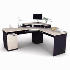 home office corner desk furniture home office furniture desk Wall units can be of a number of different types. home office corner desk furniture are one of the m. Computer Desk Design, Computer Desks For Home, Home Desk, Home Office Desks, Gaming Desk, Pc Desks, Ikea Office, Design Desk, Computer Tables