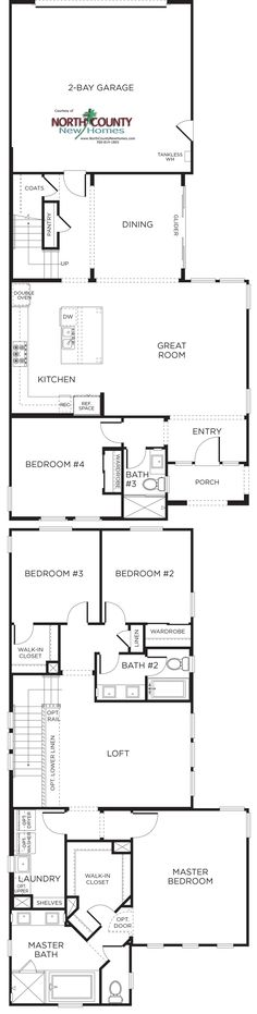 New Homes In Carmel Valley And Pacific Highands Ranch At Canterra Canterra Floor Plans Residence