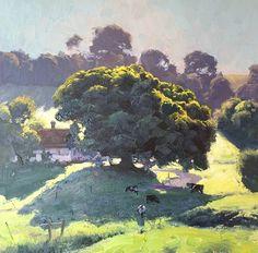 Painting by Warwick Fuller Australian Artist.
