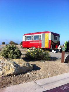 very cool vintage camper!