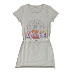 Wonder Wheel link dress Heather grey  Hundred Pieces