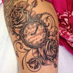 pocket watch tattoo - Pesquisa Google