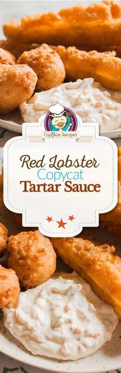Make your own copycat recipe for Red Lobster Tartar sauce with this easy recipe.