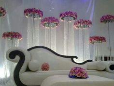 ☺ Wedding Backdrop Design, Wedding Stage Design, Wedding Reception Backdrop, Wedding Stage Decorations, Wedding Mandap, Wedding Chairs, Wedding Designs, Wedding Venues, Bride Groom Table