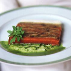 The lovely terrine offers a beautiful presentation and a perfect marriage of flavors.