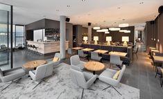 Commercial interior we like Hotel Lobby, Lobby Lounge, Hotel Lounge, Commercial Interior Design, Commercial Interiors, Hotel Interiors, Office Interiors, Lounge Design, Workspace Design