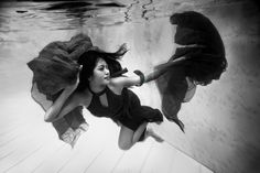 Underwater session with Lina