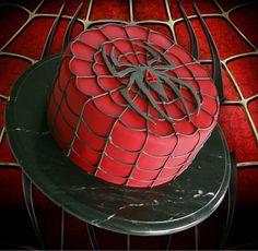 idea para bizcocho spiderman