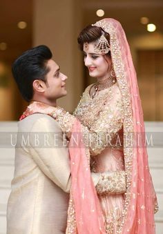 102 best bride & groom images in 2019 Bridal Mehndi Dresses, Indian Bridal Outfits, Pakistani Wedding Dresses, Bridal Lehenga, Nikkah Dress, Pakistan Bride, Pakistan Wedding, Desi Wedding, Wedding Poses