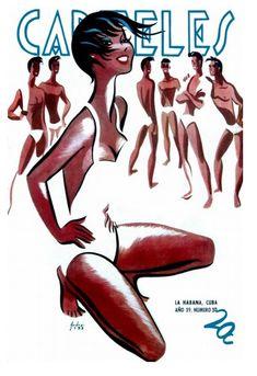 CARTELES magazine, Havana, Cuba