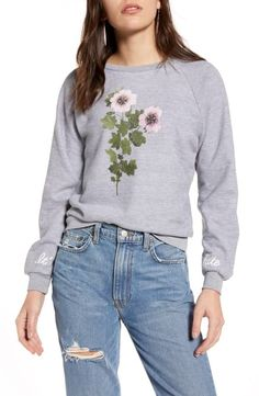 online shopping for Wildfox It's Fate Fiona Sweatshirt from top store. See new offer for Wildfox It's Fate Fiona Sweatshirt Half Zip Sweaters, Sweatshirts Online, World Of Fashion, Fashion Women, Maternity Dresses, Wildfox, Hooded Jacket, Nordstrom, Clothes For Women