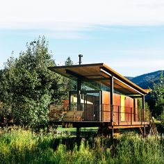 Best cabins: Rolling Huts in the Cascade Mountains