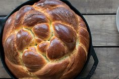 Baked in cast-iron skillets, these loaves  are dense, soft, and subtly sweet.