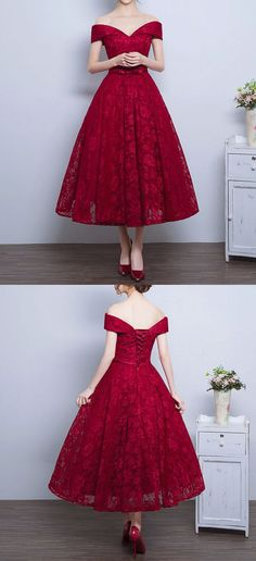 This fabulous red lace dress is perfect for every formal event and is now available in new colors!