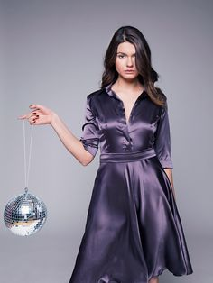 Dedicated to all things silk,satin.and a little sissy Satin Skirt, Satin Dresses, Corset Dresses, Stunning Dresses, Beautiful Gowns, Satin Bluse, Silky Dress, Blouse Dress, Silk Satin