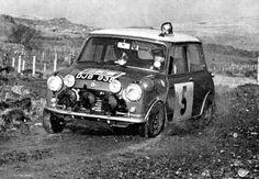 Mini Cooper S, Mini Cooper Classic, Cooper Car, Classic Mini, Mini Morris, Monte Carlo Rally, Classic Race Cars, Rally Car, Vintage Cars