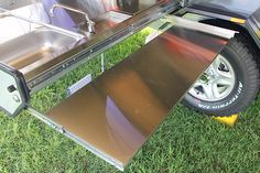 lightweight off-road camper trailer kitchen table