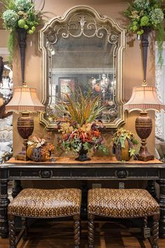 This special time of the year marks the beginning of the fall season for Linly Designs. We are looking forward to sharing all of our fall décors with you! Tuscan Design, Tuscan Style, Fall Home Decor, Autumn Home, Interior Design Living Room, Living Room Decor, Tuscan Living Rooms, Room Interior, Home Decor Floral Arrangements