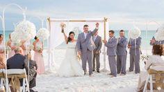 destin wedding ceremony on the beach