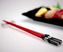 Lightsaber Chopsticks! Epic.