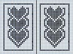 Cross Stitch Bookmarks, Cross Stitch Heart, Cross Stitch Patterns, Tunisian Crochet, Filet Crochet, Knit Crochet, Crochet Wall Hangings, Tapestry Crochet, Beading Patterns