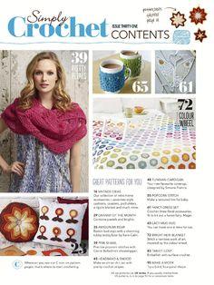 Simply Crochet  Issue 31 2015 - 轻描淡写 - 轻描淡写