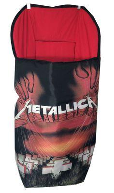 saco de silla de paseo universal bebes metallica por rockandkids