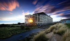 South Fremantle abandoned Power station.  Photograph taken by Marc Russo