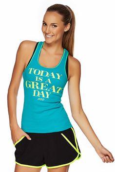 Great Day Tank | Inspirational Tanks | Styles | Styles | Shop | Categories | Lorna Jane US Site