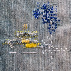 misako mimoko: Remiendos y zurcidos. Darnings and Mendings.