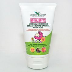 Goddess Garden Baby Natural Sunscreen 30SPF Natural Sunscreen, Natural Products, Personal Care, Garden, Nature, Baby, Naturaleza, Self Care, Gardens