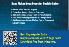 Top Hand Picked Yoga Poses for Healthy Spine - Yoga is the only best way to protect and strengthen the spine, these are the important yoga poses that you can do to protect your healthy spine