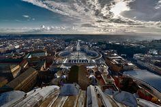 Photograph Vatican square, Rome by Angelo Ferraris