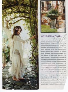 Magnolia Pearl in Country Living April 2008