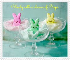 Mason Jar Easter Basket, Cotton Candy Peeps and an Easter Basket Rainbow - Cupcakes & Crinoline | Cupcakes & Crinoline