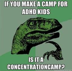 Saw this while discussing ADHD kids in psych class lolololol
