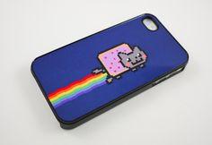 Nyan Cat iPhone Case. Want!