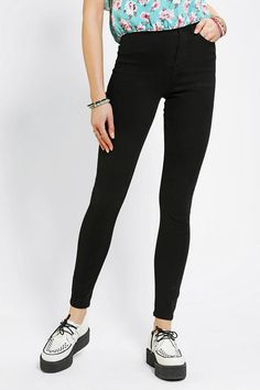 #UrbanOutfitters          #Women #Bottoms           #sits #bdg #high-rise #twig #stretchy #content #cropped #5-pocket #ankle #fly #thigh #hip #fitted #exclusive #jean #leg #length #cotton #zip #care #black   BDG Twig Super-High-Rise Jean - Black               Stretchy 5-pocket, ultra-high-waisted Twig jean cut super-skinny from BDG. Fitted through the hip and thigh with a tapered, cropped leg. Sits just above the hip with a high-rise. Zip fly; ankle length. UO Exclusive.    CONTENT   CARE…