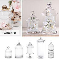 Various Candy Jars Candy Jars, Home Decor, Decoration Home, Room Decor, Interior Decorating