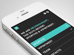 nevergiveapp #mobile #responsive #design