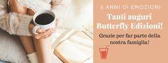 Atelier di una Lettrice Compulsiva: BUON COMPLEANNO BUTTERFLY EDIZIONI!