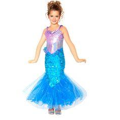 walmart mermaid child halloween costume - Walmart Costumes Halloween Kids