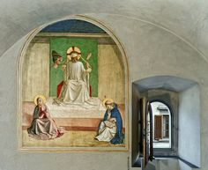 View The Mocking of Christ by Fra Angelico, Cell Museum of San Marco Convent, Florence, Italy by Robert Polidori on artnet. Browse more artworks Robert Polidori from Kasmin. Artistic Photography, Art Photography, Photography Magazine, Filippo Brunelleschi, Giorgio Vasari, John The Evangelist, Fra Angelico, Life Of Christ, Antigua
