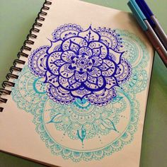 color-and-mandala-combined-with-zentangle