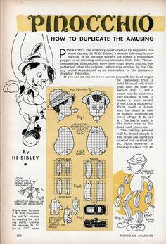 Pinocchio the Puppet | Modern Mechanix