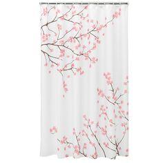 Home ClassicsR Cherry Blossom Fabric Shower Curtain