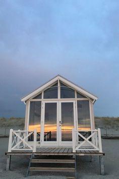 Impressie: Haagse Strandhuisjes