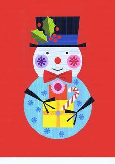 Artist, designer and illustrator. Christmas Artwork, Retro Christmas, Christmas Themes, Christmas Crafts, Xmas, Winter Illustration, Christmas Illustration, Graphic Illustration, Winter Art