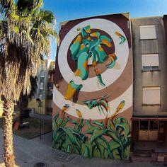 Biorobots y otras especies en los graffitis de Werens - Esto no es arte